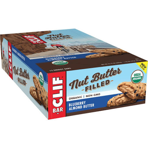 Clif Bar Nut Butter Filled: Blueberry Almond Butter, Box of 12