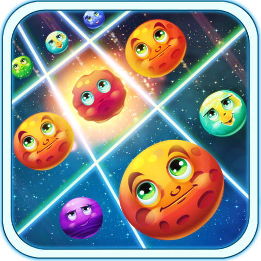 Galactic Burst - Match 3 Game
