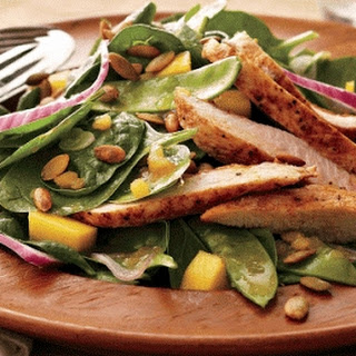 Turkey And Mango Salad With Chutney Vinaigrette