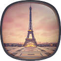 Romantic Paris Live Wallpaper icon