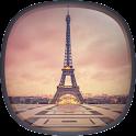 Romântico Paris Papel Parede icon