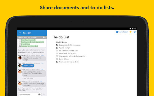 Quip: Docs, Chat, Spreadsheets- screenshot thumbnail