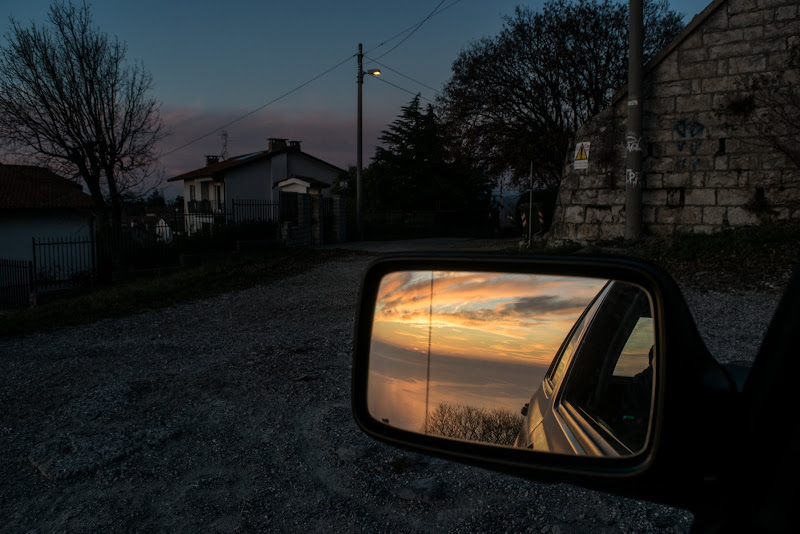 Sunset in mirror di nogoalba