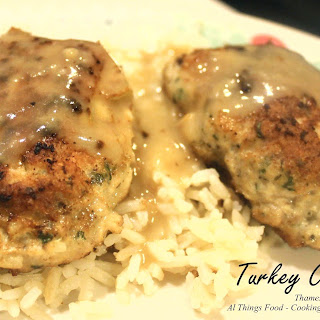 Turkey Croquettes or Patties