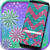 Glitter Live Wallpapers: Sparkle Background Themes
