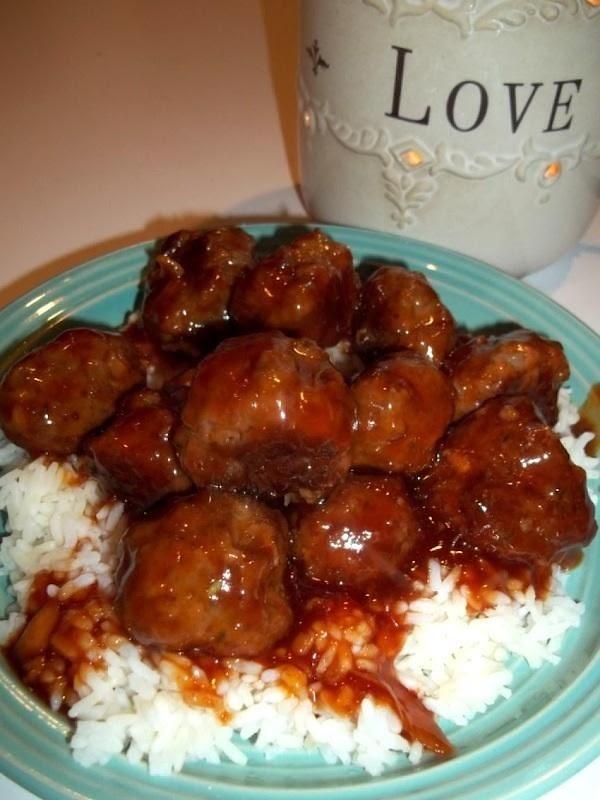 ~ Ultimate Tailgate Meatballs ~ Recipe
