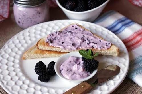 Click Here for Recipe: Blackberry Cream Cheese Spread