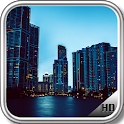 Miami City Wallpaper icon