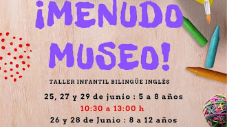 Talleres infantiles bilingües en el Museo de Almería con Queidea.