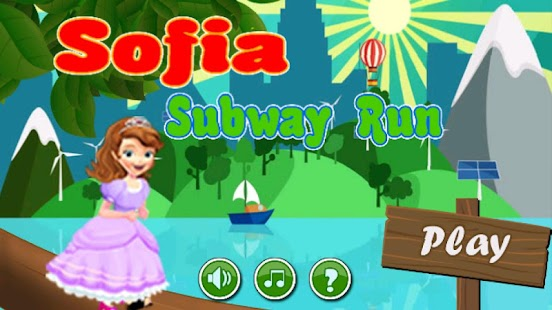 Sofia Subway Run Princess Adventure - náhled