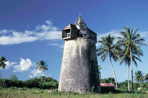 "Guadeloupe-windmill.jpg - Take an excursion to Marie-Galante, known as ""island of 100 windmills,""  while visiting Guadeloupe."