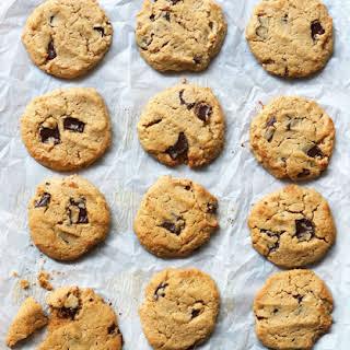 Cashew Butter Cookies (Paleo, Vegan).