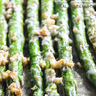 Roasted Garlic Parmesan Asparagus.