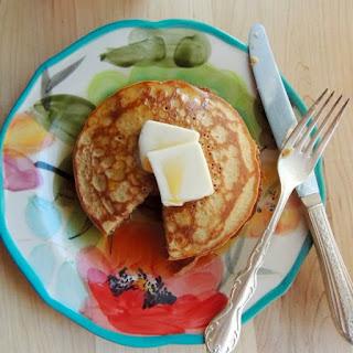 Peanut Butter Quinoa Pancakes {Gluten Free}