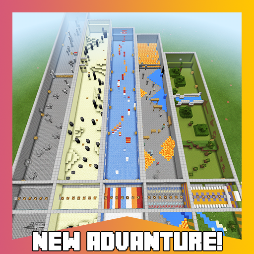 Fifth Parkour. Minecraft map