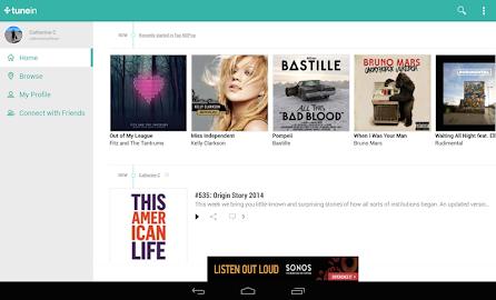 TuneIn Radio Screenshot 6