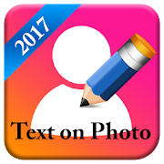 TexoPic : Text on your Profile picture icon