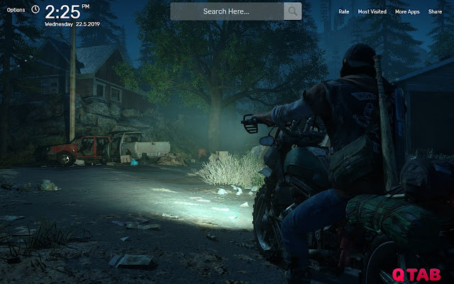 Days Gone Wallpapers HD Theme