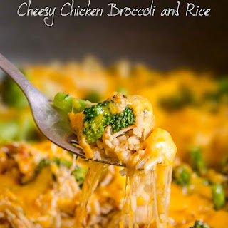 One-Pot Cheesy Chicken with Broccoli and Rice