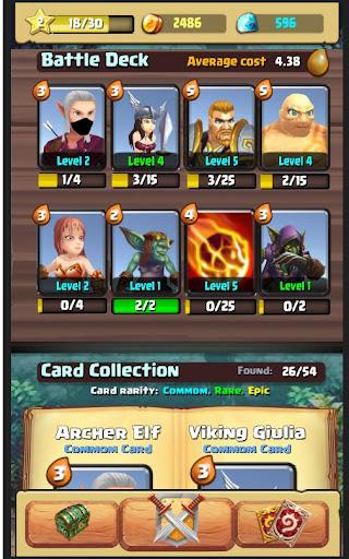 Code Triche Moba Heroes Arena APK MOD screenshots 5