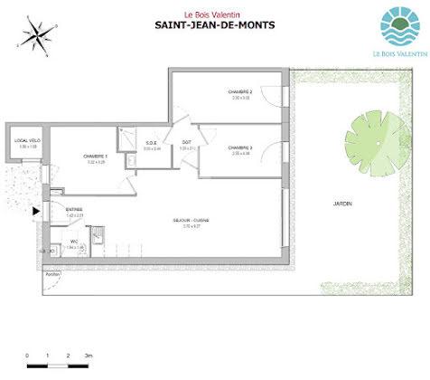 Vente maison 4 pièces 83,55 m2