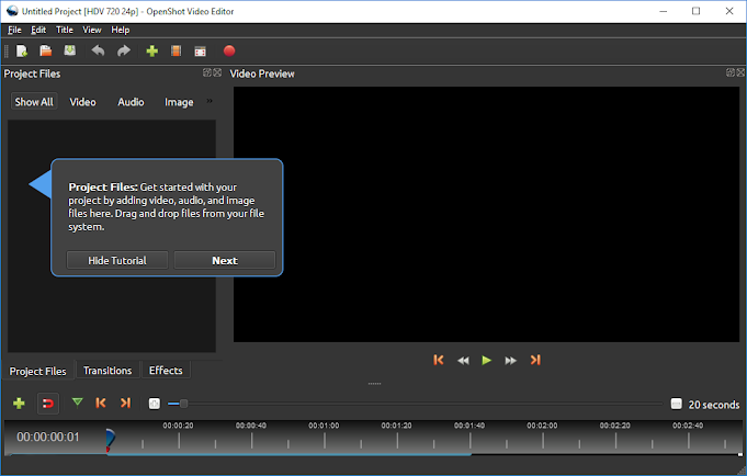 Jonathan Thomas is creating OpenShot Video Editor