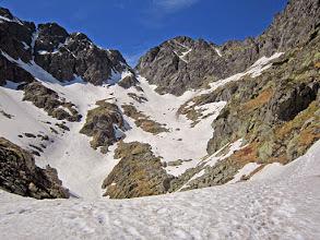 Photo: jedyne słuszne podejście pod Zawrat - 100% w śniegu :)