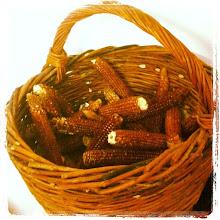 "Photo: Handmade rods basket with corn ""ciocalai"" (Romanian) #intercer #corn #handmade #romania - via Instagram, http://instagr.am/p/LruKUKpfsp/"
