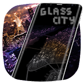 New York Glass City Theme Launcher