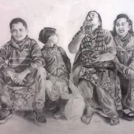 by Samriddhi Dutta - Drawing All Drawing