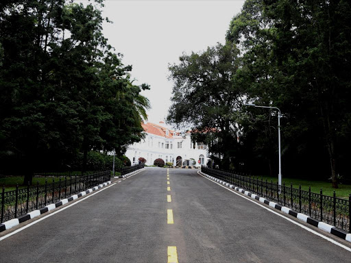 A general view of State House drive-way. Photo/HEZRON NJOROGE