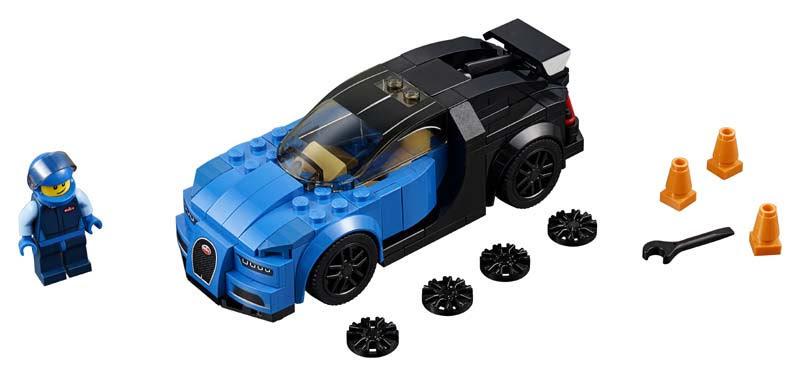 Contenido de Lego® 75878 Bugatti Chiron