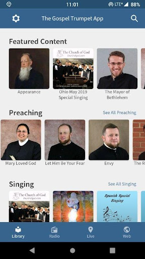 The Gospel Trumpet App 3.0.4 screenshots 1