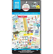 Me & My Big Ideas Happy Planner Sticker Value Pack - CLASSIC Fun Kid