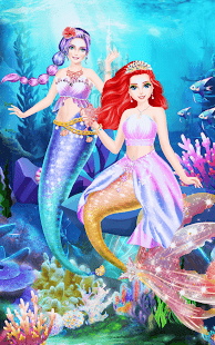 Mermaid-Princess-Beauty-Salon 5