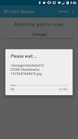 Screenshot of Rescan SD Card