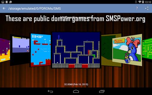 MasterGear - MasterSystem & GameGear Emulator screenshots 19