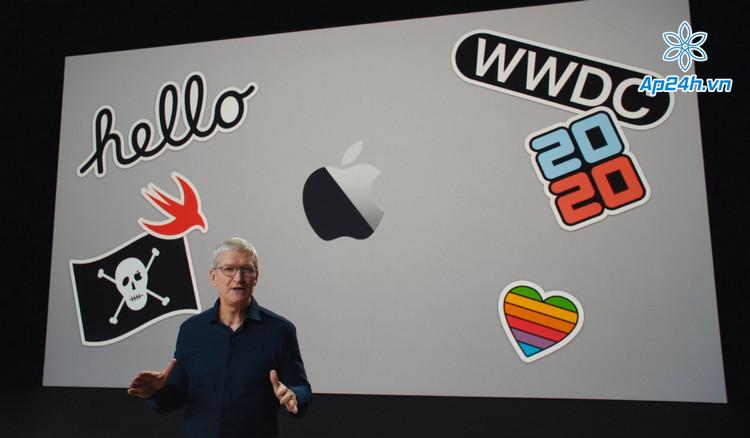 Hình ảnh sự kiện WWDC vào hè 2020