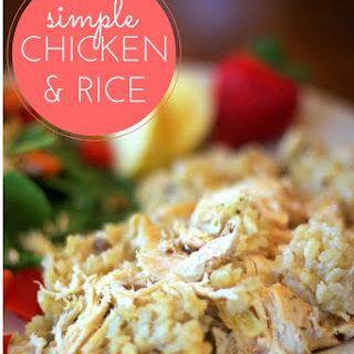 Easy Chicken and Rice.