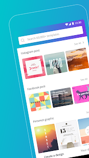Canva – Create beautiful designs anywhere, faster.- screenshot thumbnail