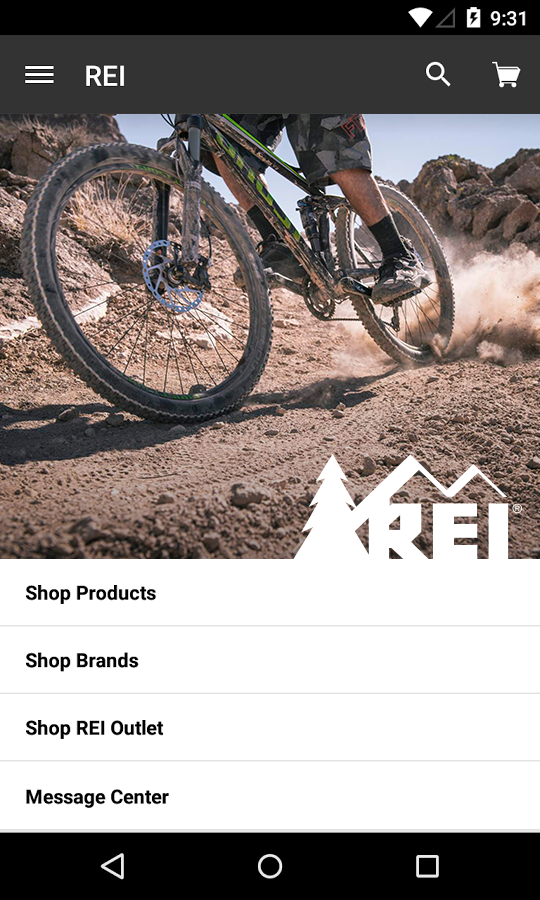 REI – Shop Outdoor Gear - screenshot