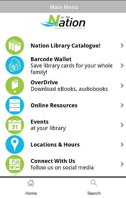 Nationbiblio- screenshot