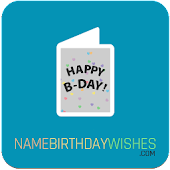 Name Birthday Wishes