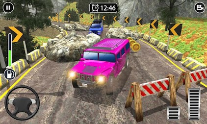 Offroad Extreme 4x4 - Impossible Jeep Driving APK screenshot thumbnail 2