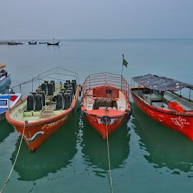 by Orbind Shaikat - Transportation Boats