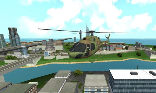 サンアンドレアスヘリコプターレスキュー