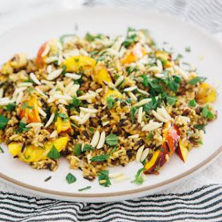 Wild Rice and Stone Fruit Salad