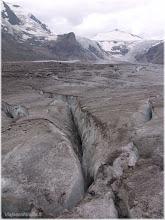 Photo: Carretera de Grossglockner-Hochalpenstrasse ( Austria) Lengua del glaciar. http://www.viajesenfamilia.it/