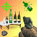 Action bottle shooter surprise: real shooting fun icon