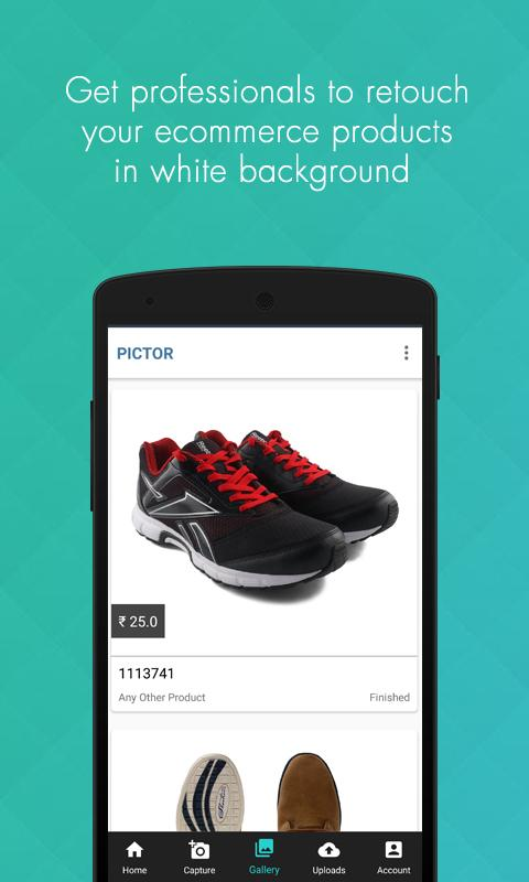Pictor Camera - Product Photo- screenshot